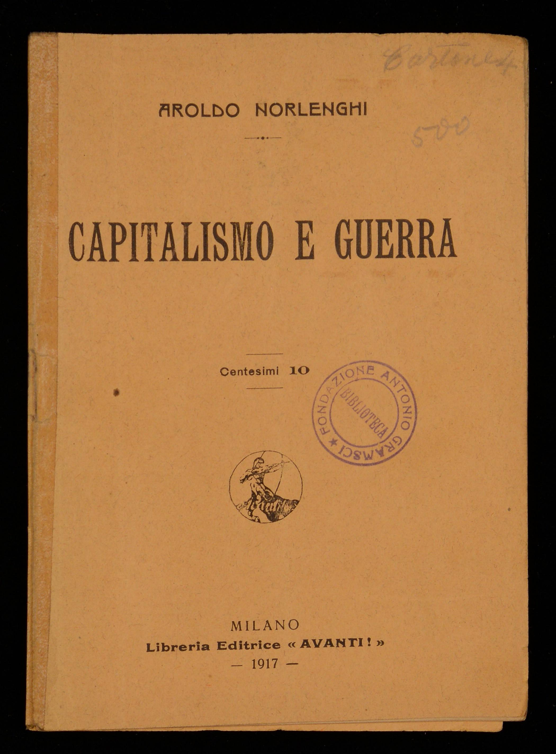 Capitalismo e guerra